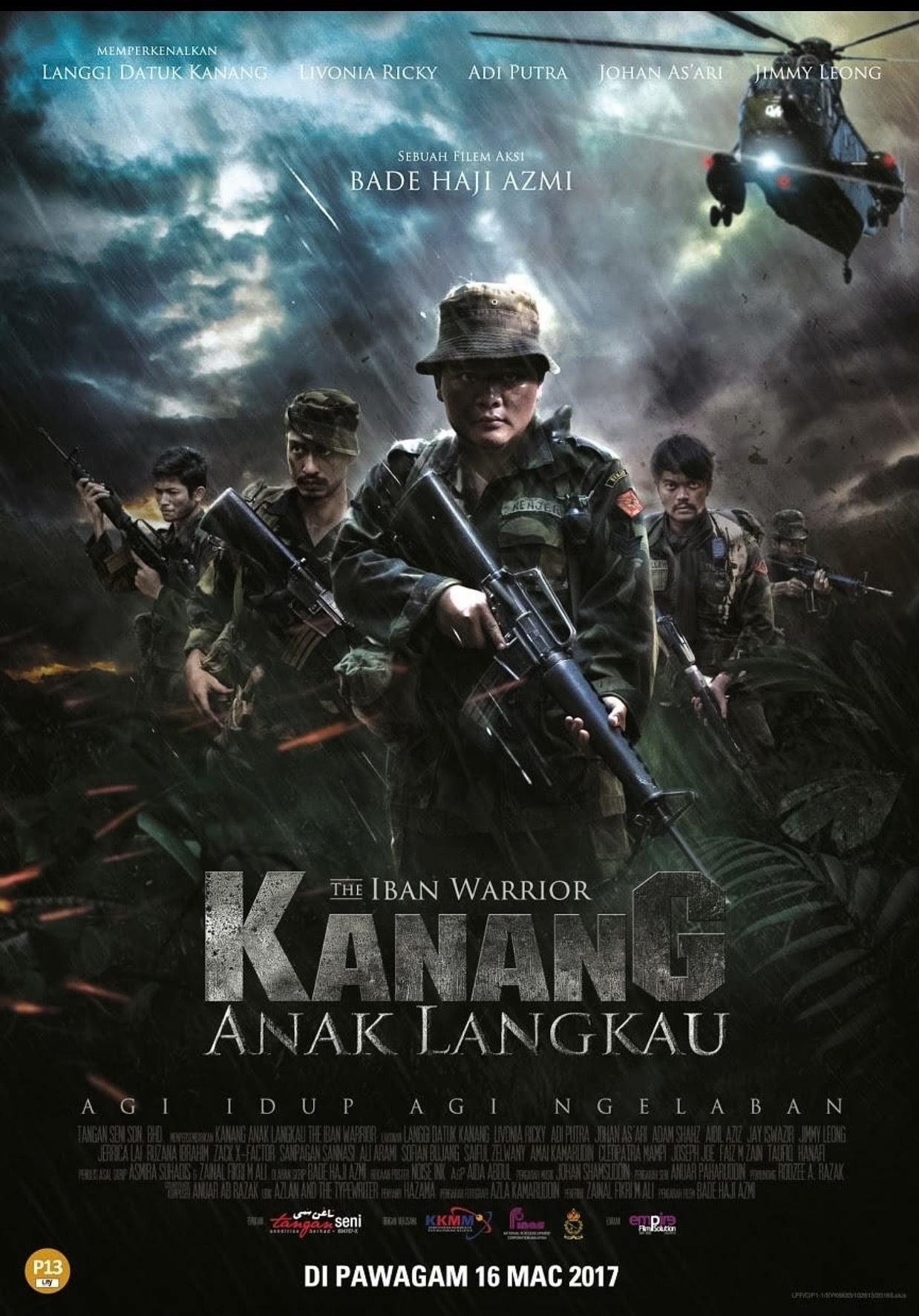 Ver Kanang Anak Langkau: The Iban Warrior Online HD Español (2015)