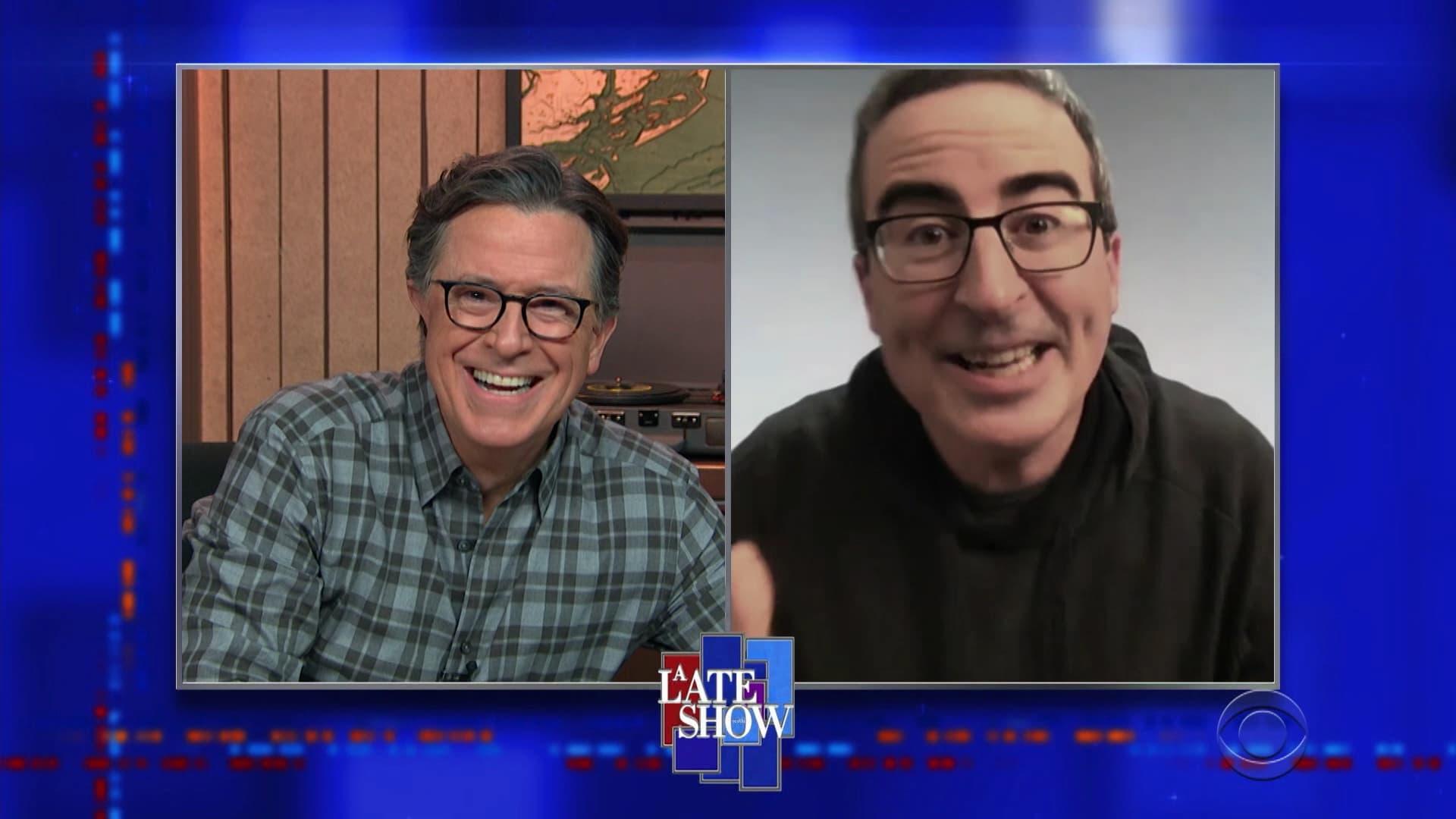 The Late Show with Stephen Colbert Season 6 :Episode 29  John Oliver, Cher, Jojo