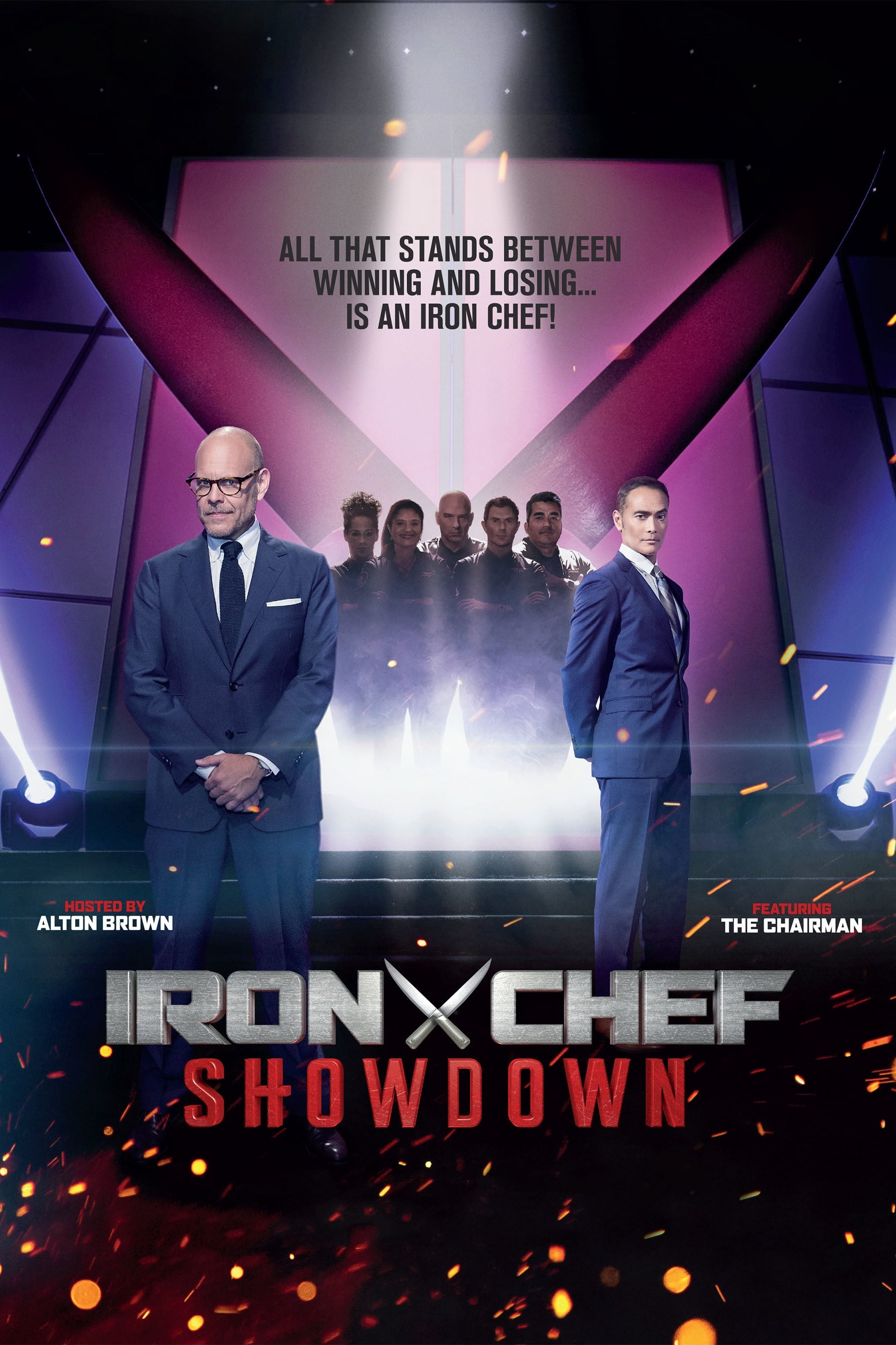 Iron Chef Showdown TV Shows About Cooking Competition
