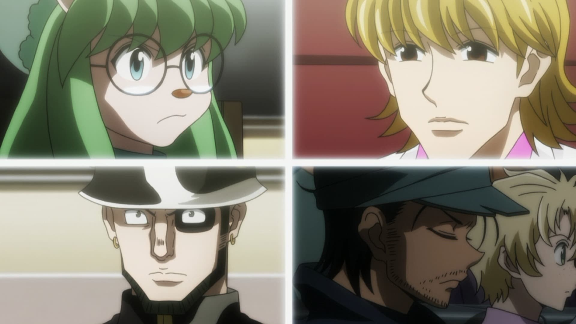 Hunter x Hunter Season 3 :Episode 8  Approval x And x Coalition