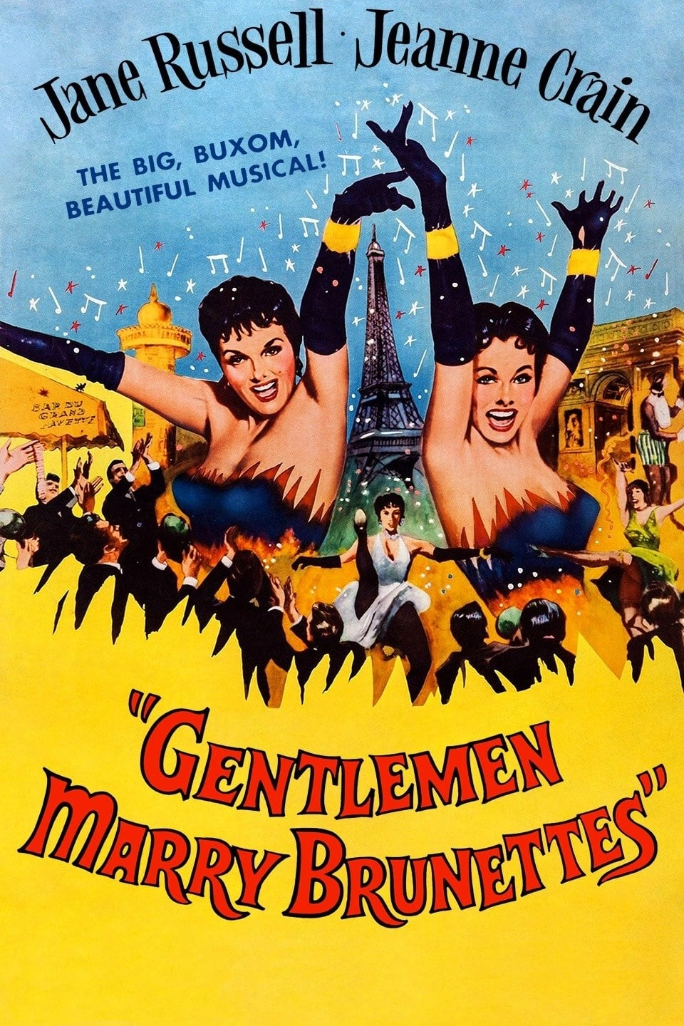 Gentlemen Marry Brunettes (1955)