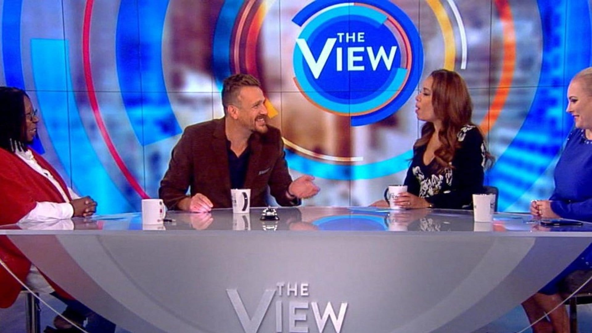 The View Season 22 :Episode 42  Jason Segel and Geraldo Rivera