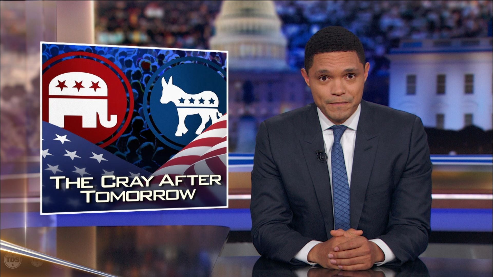 The Daily Show with Trevor Noah Season 24 :Episode 16  Cory Booker & John Kasich