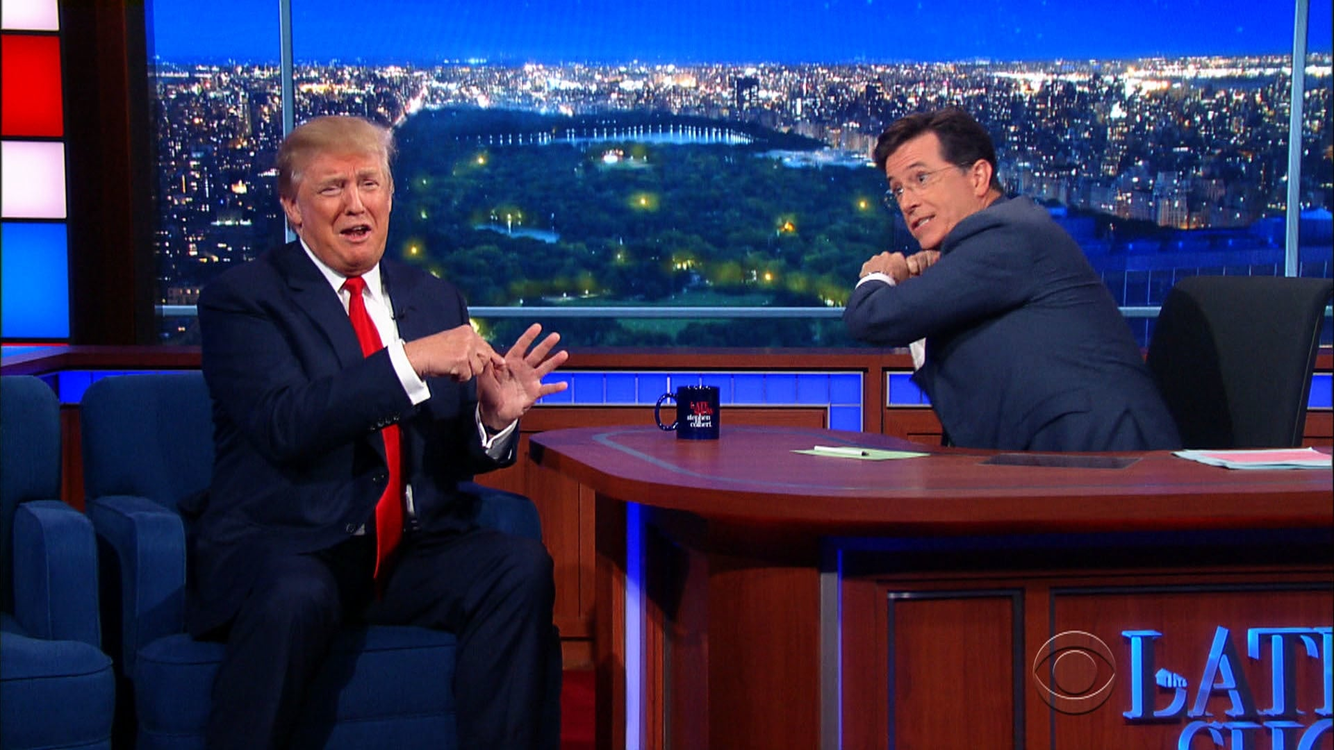 The Late Show with Stephen Colbert Season 1 :Episode 11  Donald Trump, Dr. Ernest Moniz, Raury