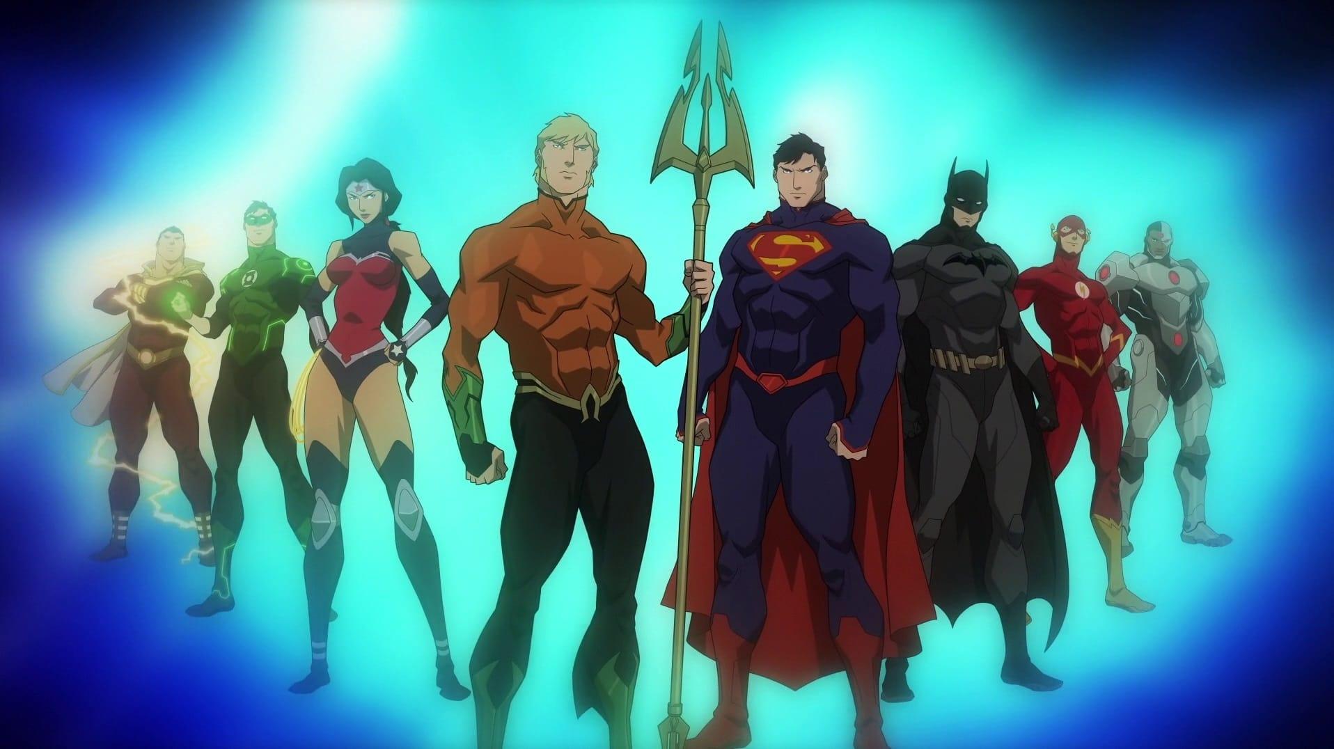 Justice League Throne Of Atlantis German