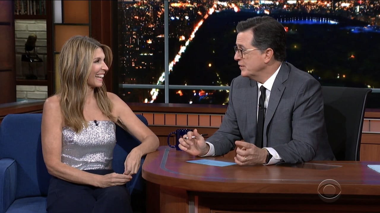 The Late Show with Stephen Colbert Season 5 :Episode 42  Tim Robbins, Nicole Wallace