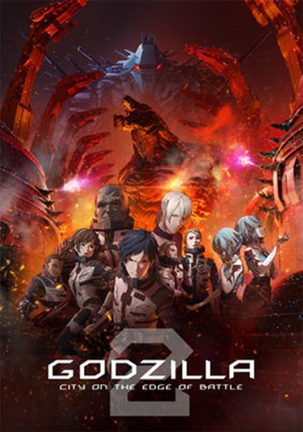 Póster Godzilla: City on the Edge of Battle