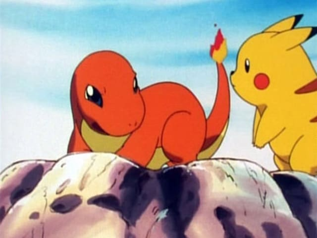 Pokémon Season 1 :Episode 11  Charmander - The Stray Pokémon