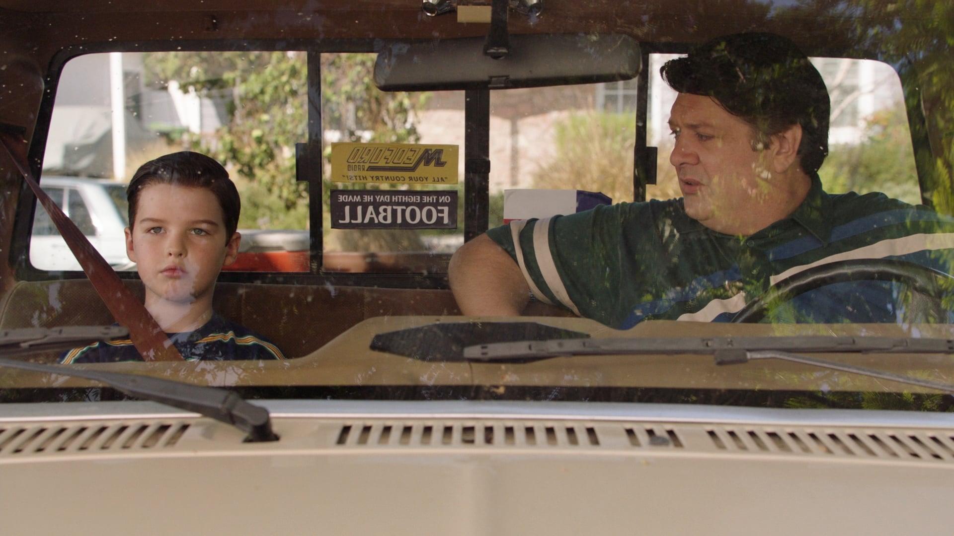 Young Sheldon Season 2 :Episode 4  Steuererklärung, Fischsauce und kein Vorbild mehr