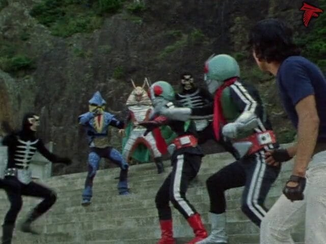 Kamen Rider Season 1 :Episode 73  Double Riders' Defeat! Shiomaneking