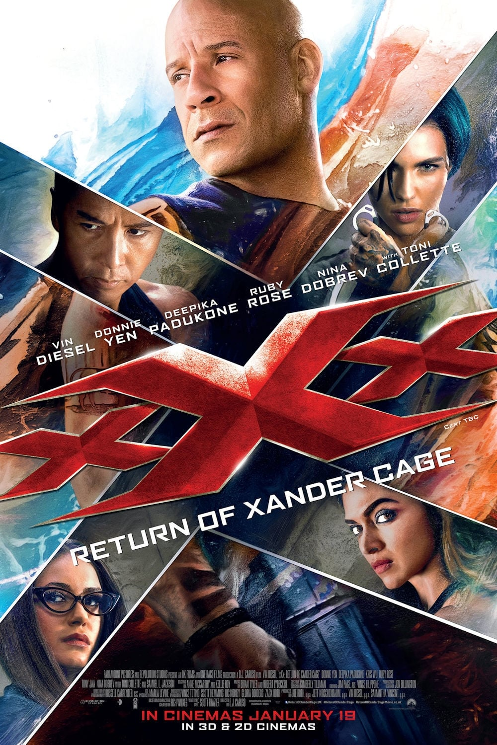 Xxx Return Of Xander Cage 2017 - Posters  The Movie -1091
