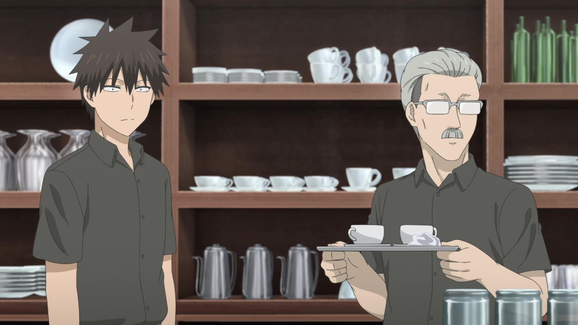 Uzaki-chan Wants to Hang Out! Season 1 :Episode 2  The Café Owner Wants a Glimpse