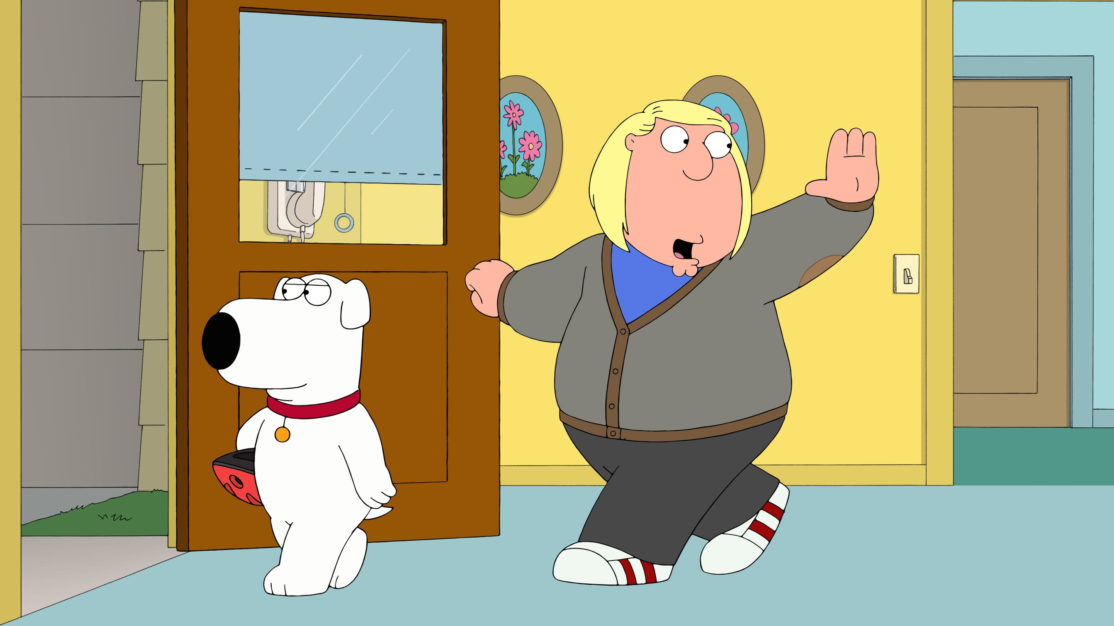 Family Guy Season 14 :Episode 5  Peter, Chris und Brian