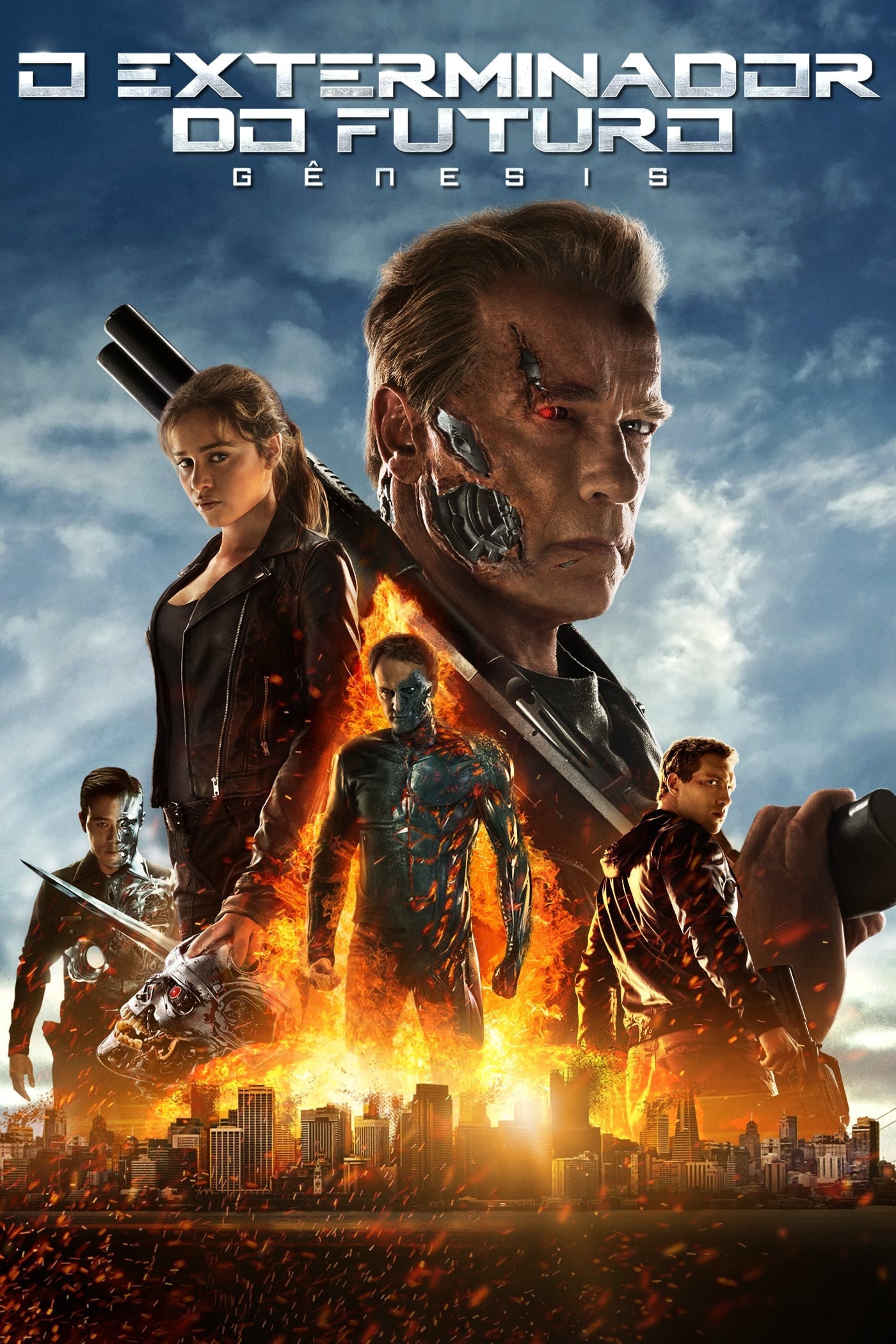 Poster and image movie Film Terminator: Genisys - Terminator Genisys - Terminator Genisys -  2015