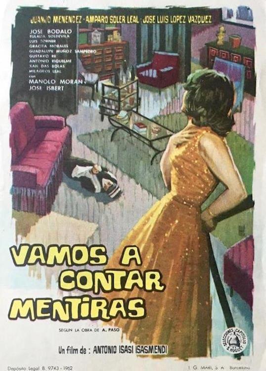 Ver Vamos a contar mentiras Online HD Español (1961)