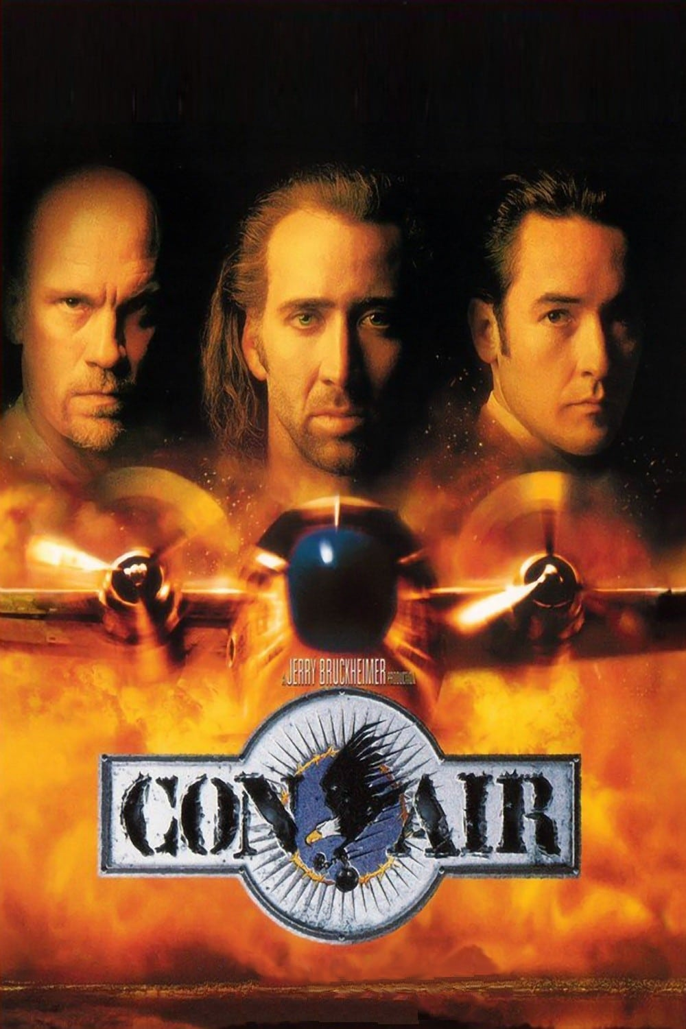 Poster and image movie Film Con Air - Avionul Condamnatilor - Avionul condamnaților - Con Air - Con Air -  1997