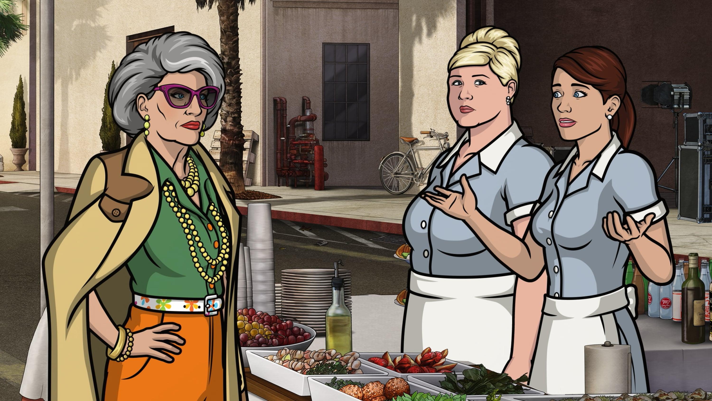 Archer Season 7 :Episode 9  Deadly Velvet: Part I