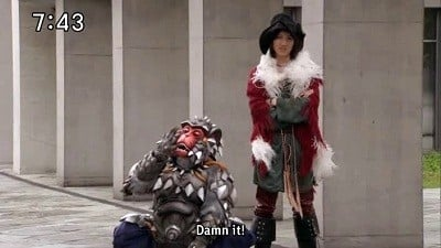 Super Sentai Season 35 :Episode 23  People's Lives are Earth's Future