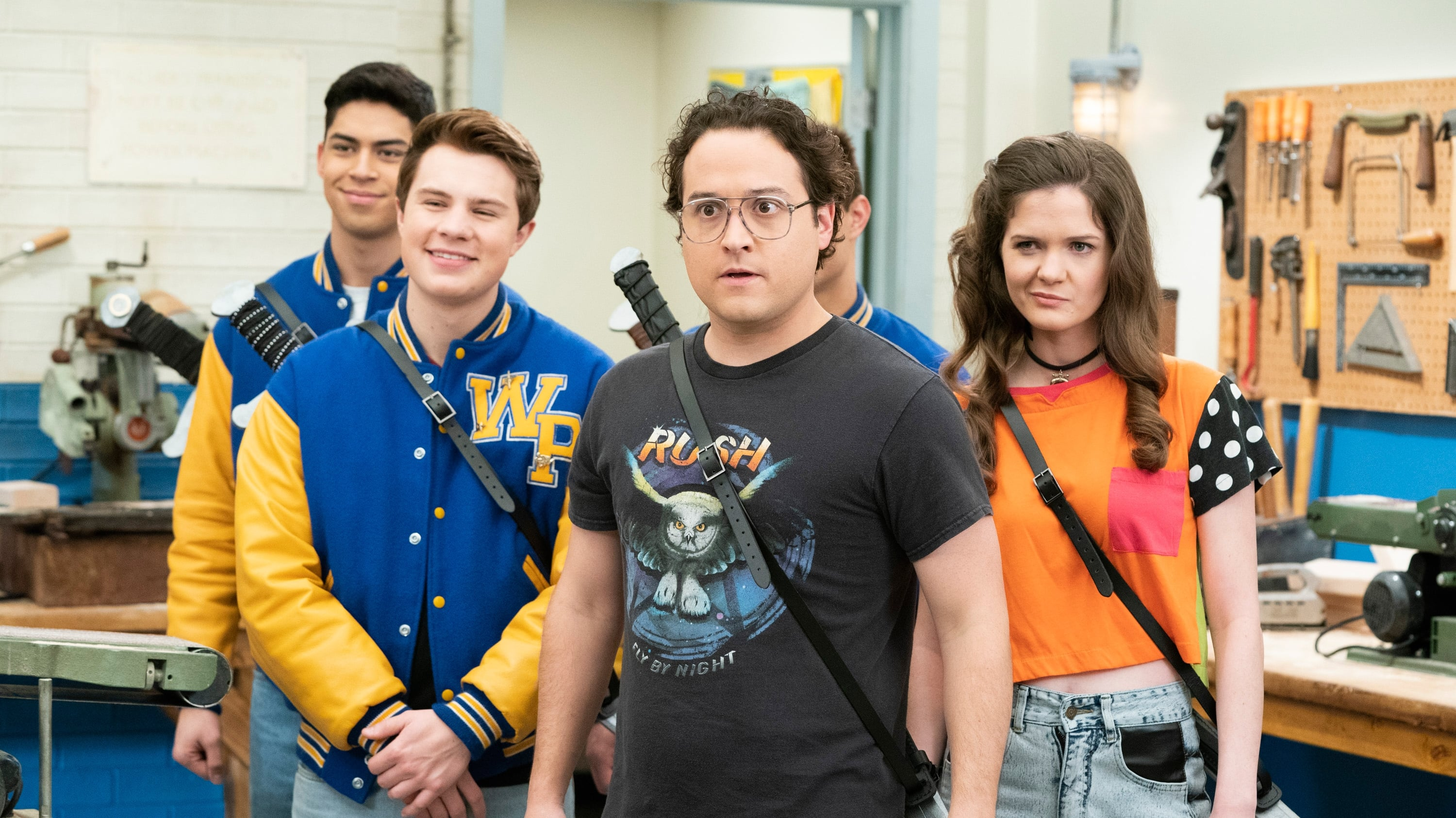 The Goldbergs Season 6 :Episode 16  There Can Be Only One Highlander Club