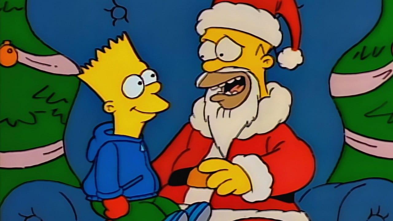 Die Simpsons Season 1 :Episode 1  Es weihnachtet schwer