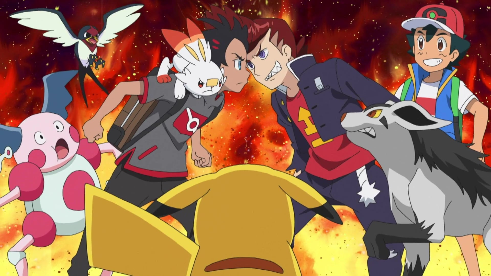 Pokémon Season 23 :Episode 7  The Hoenn Region, Site of Fierce Fights! The Battle Frontier Challenge!
