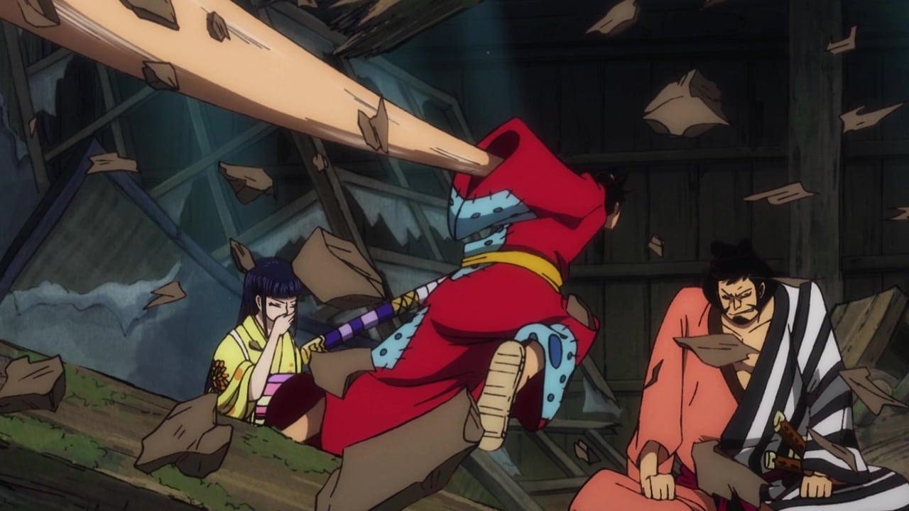 One Piece Season 21 :Episode 910  A Legendary Samurai! The Man Who Roger Admired!