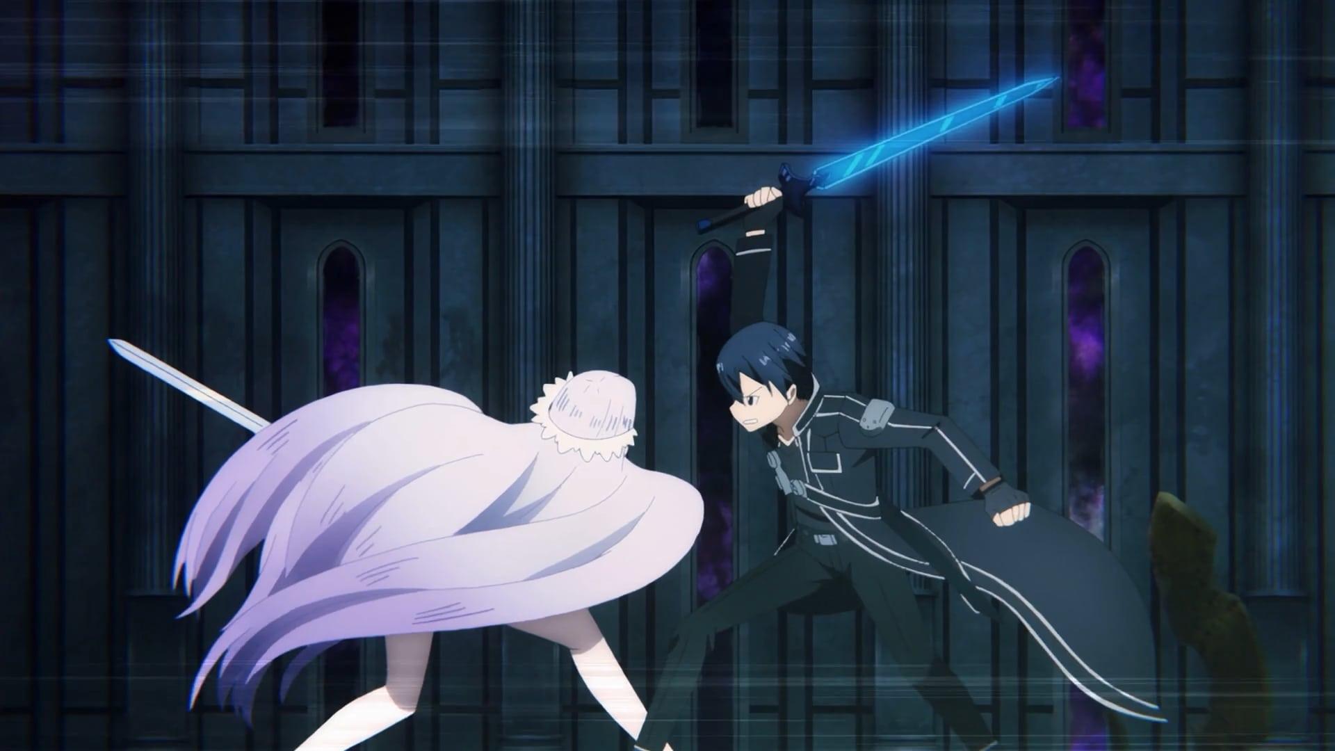 Sword Art Online Season 3 :Episode 24  My Hero