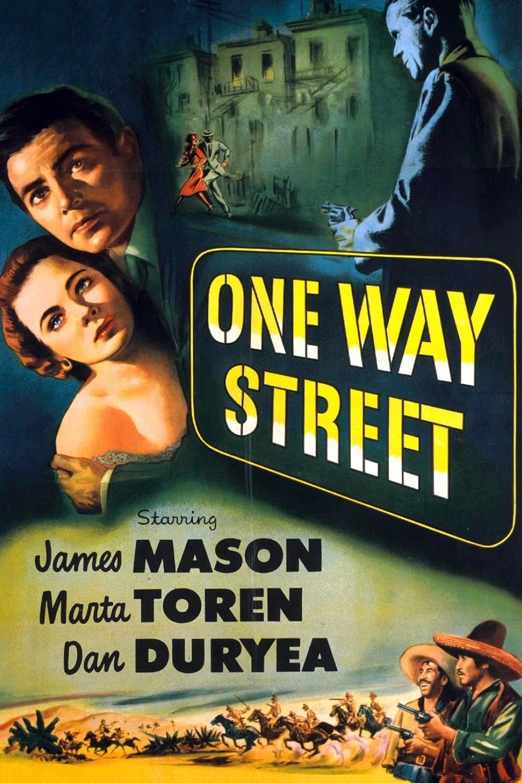 one way street 1950 posters the movie database tmdb. Black Bedroom Furniture Sets. Home Design Ideas
