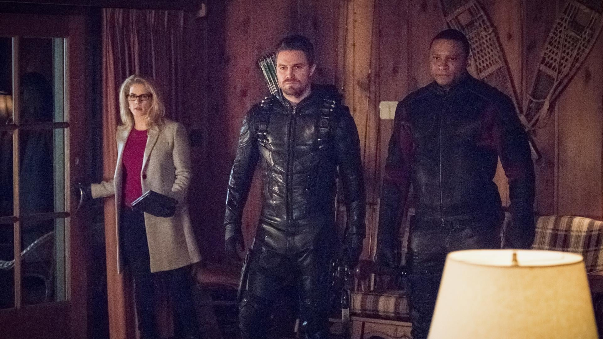 Arrow Season 6 :Episode 14  Collision Course