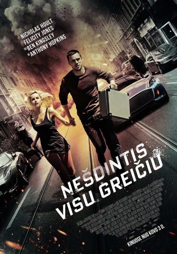 Nešdintis visu greičiu / Collide (2016)