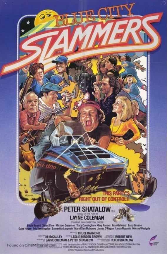Ver Blue City Slammers Online HD Español (1988)
