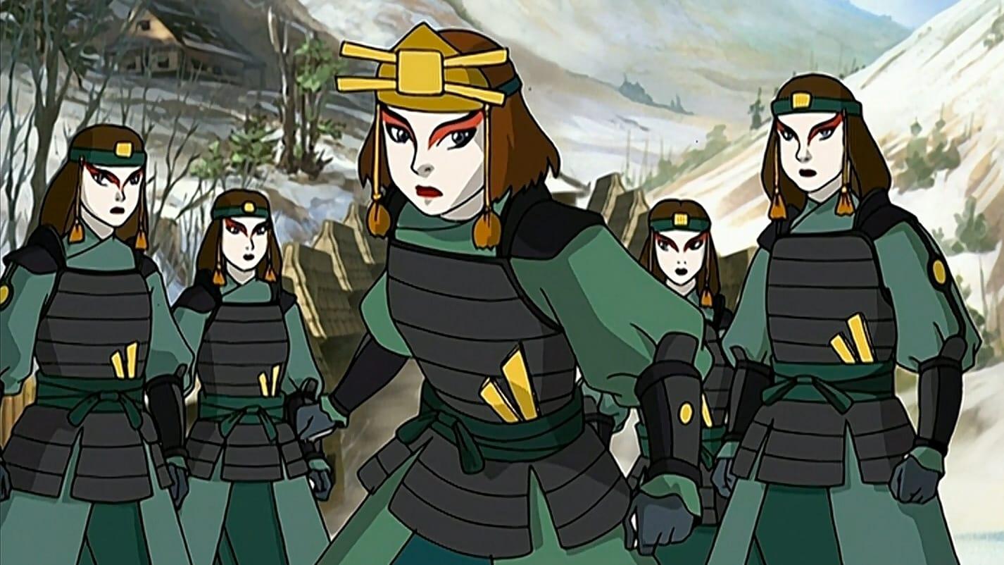Avatar - Der Herr der Elemente Season 1 :Episode 4  Die Kriegerinnen von Kyoshi