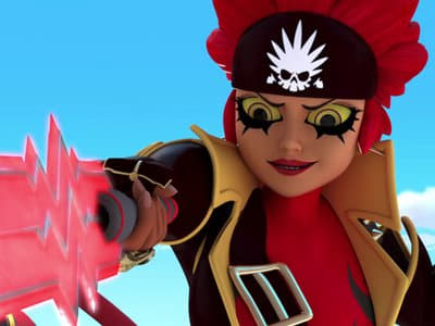 Miraculous: Tales of Ladybug & Cat Noir Season 2 :Episode 12  Captain Hardrock