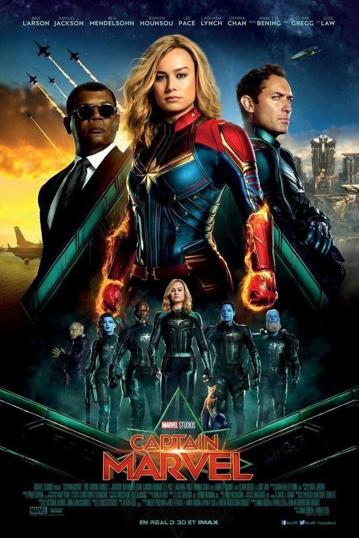 Captain Marvel streaming sur libertyvf