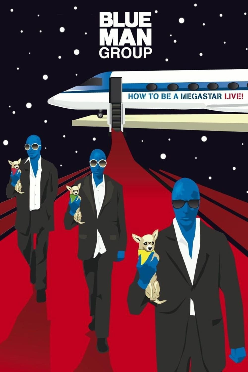 Blue Man Group: How to Be a Megastar Live! (2008)