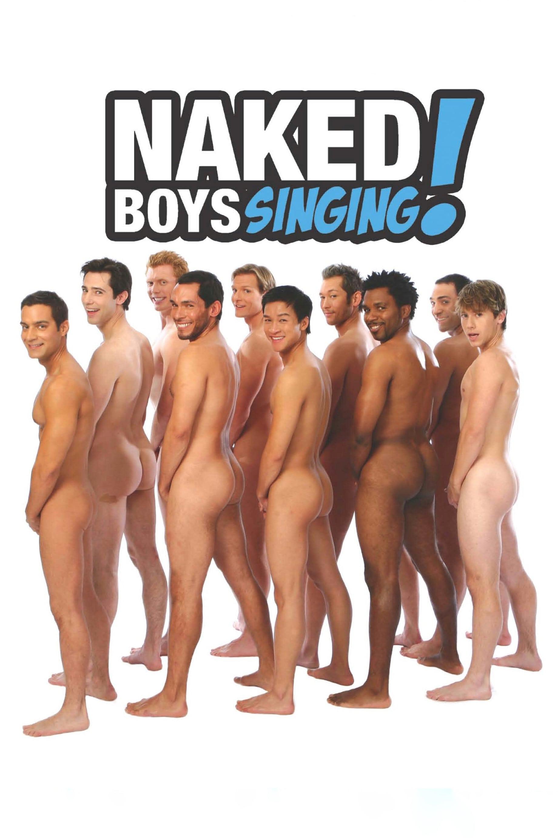 Naked boys sing