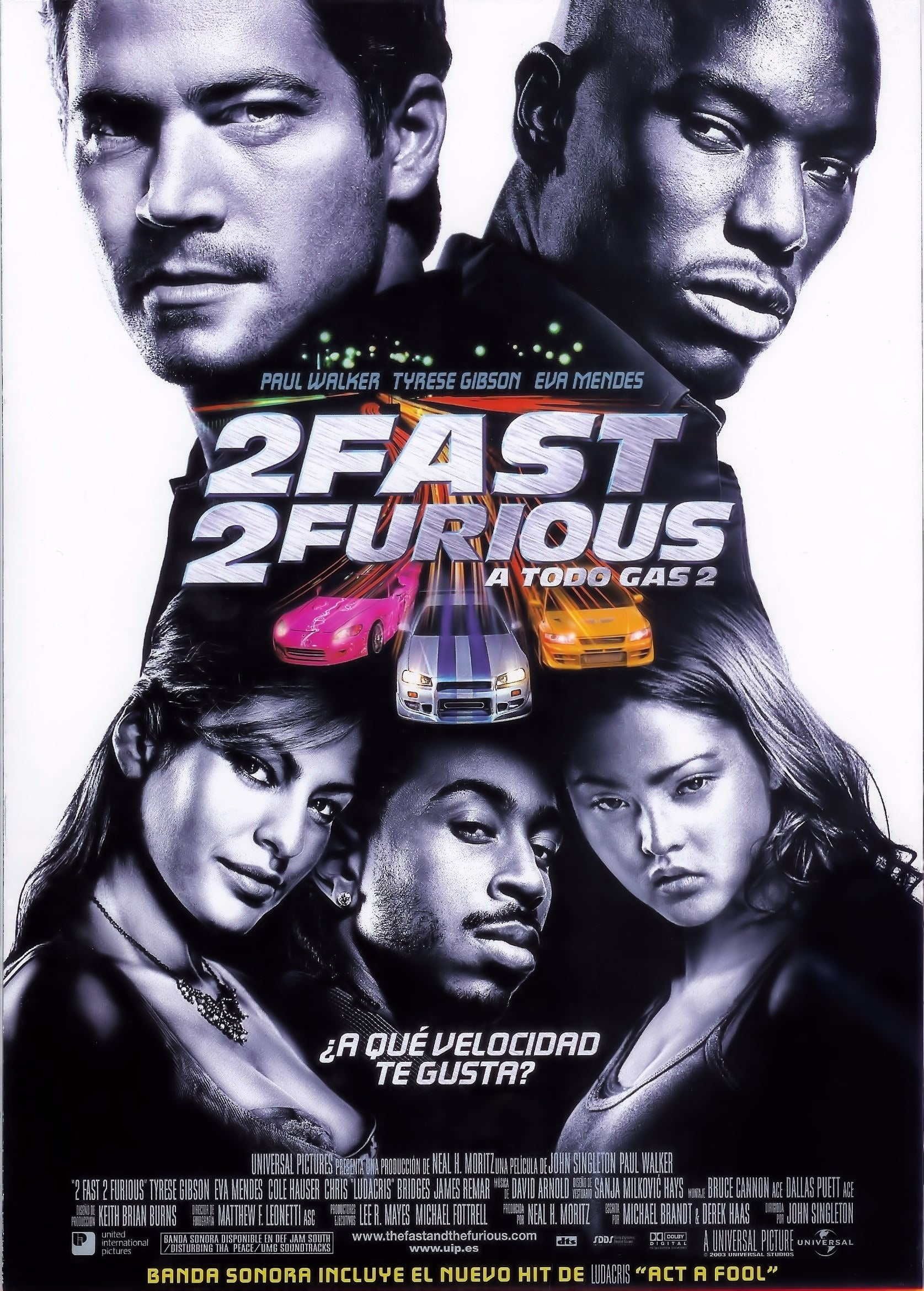 2 Fast 2 Furious (2003) - Posters — The Movie Database (TMDb)