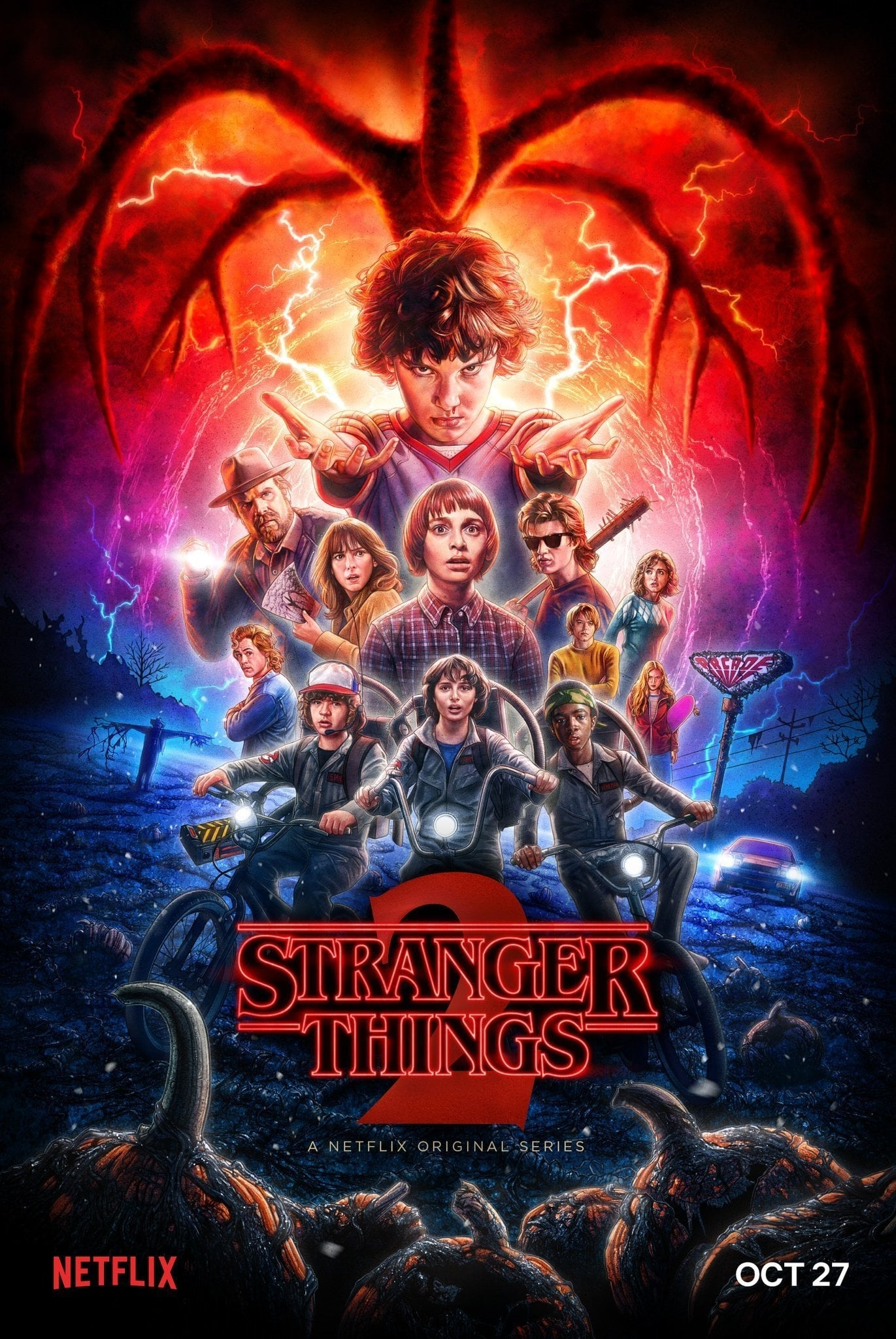 Stranger Things 2ª Temporada Dual Áudio