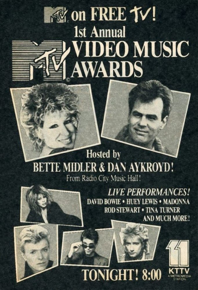 Ver MTV 1st Annual Video Music Awards Online HD Español (1984)