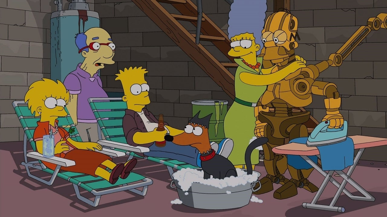 The Simpsons Season 25 :Episode 18  Days of Future Future