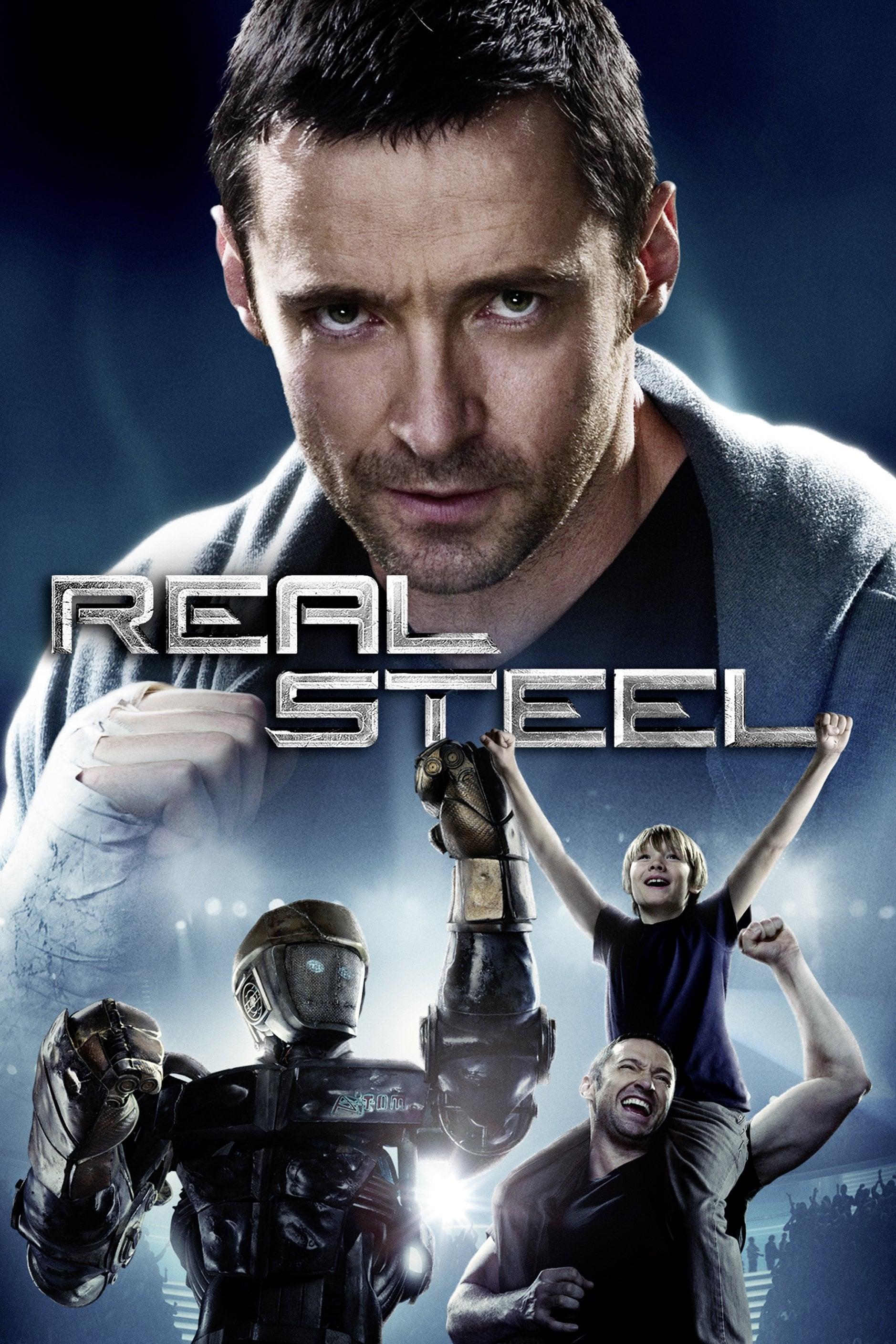 Real Steel 2011 Posters The Movie Database Tmdb