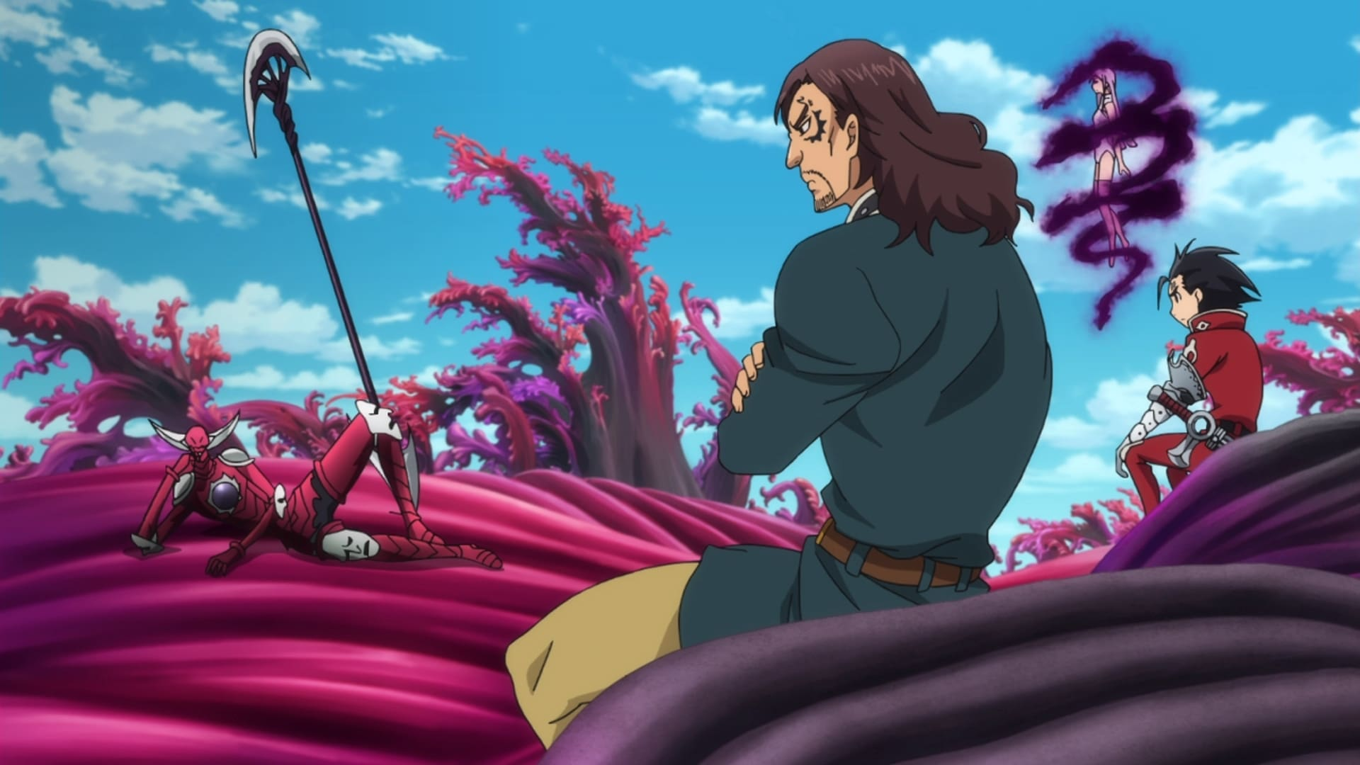The Seven Deadly Sins Season 2 :Episode 8  The Druids' Holy Land