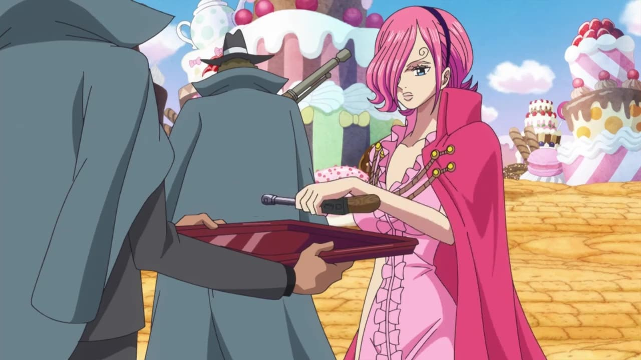 One Piece - Season 19 Episode 830 : The Family Gets Together! The Hellish Tea Party Starts!