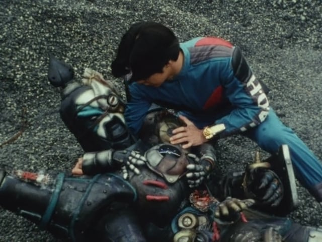 Super Sentai Season 19 :Episode 15  My Friend! Rest in Passion!!