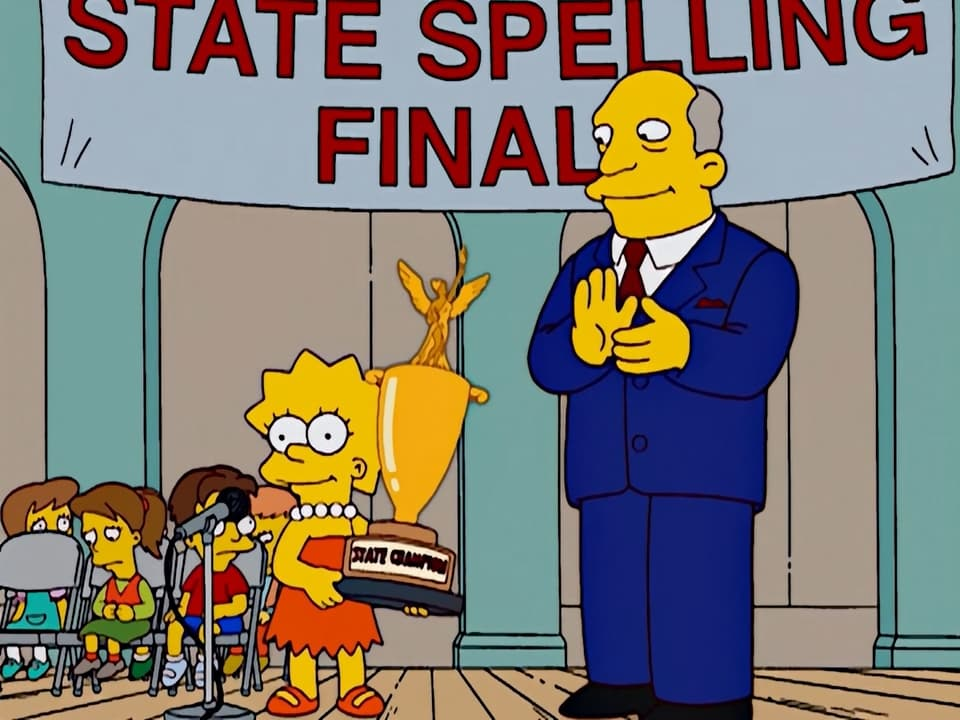 The Simpsons Season 14 :Episode 12  I'm Spelling as Fast as I Can