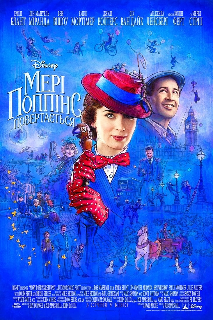 Poster and image movie Mary Poppins Returns