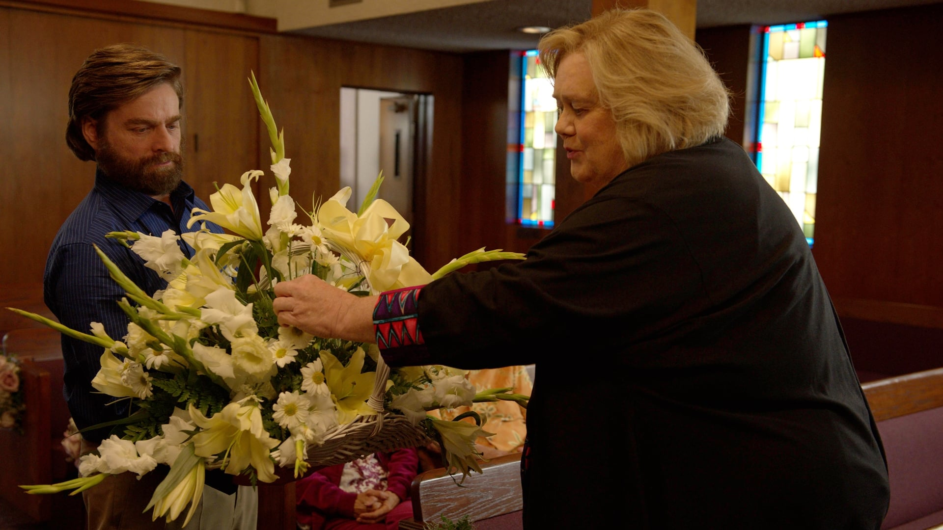 Baskets Season 2 :Episode 8  Funeral