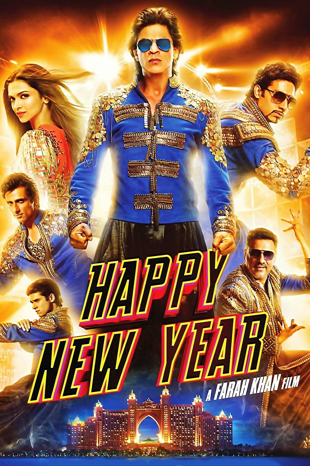 Happy New Year (2014) - Posters — The Movie Database (TMDb)