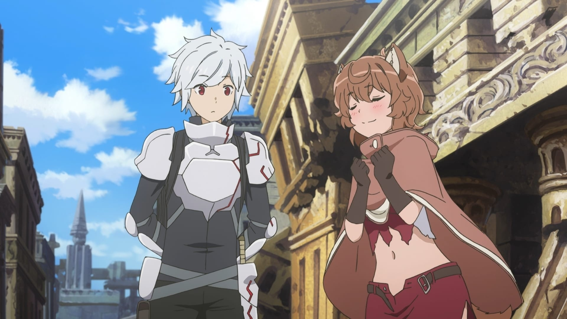 Is It Wrong to Try to Pick Up Girls in a Dungeon? Season 1 :Episode 7  Aiz Wallenstein: Sword Princess