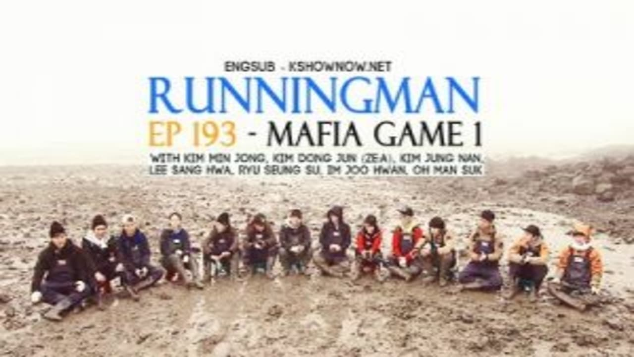 Running Man Season 1 :Episode 193  Mafia Game, Part 1